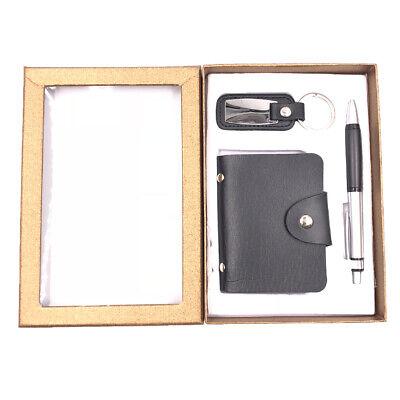Hardcover Notebook + Pen + KeyChain Set Gift Men Boys Christmas Birthday Friends - Christmas Pens