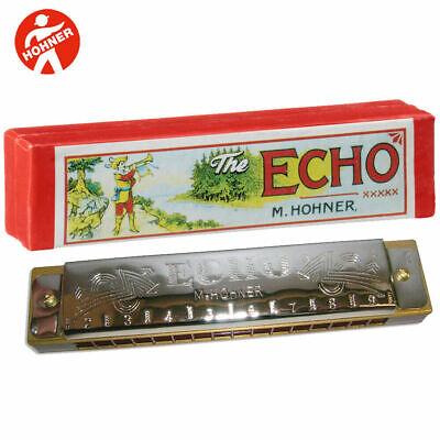 how to play echo harmonica