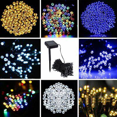 200/100 Outdoor Solar Powered String Light Garden Christmas Party Fairy Lamp ()