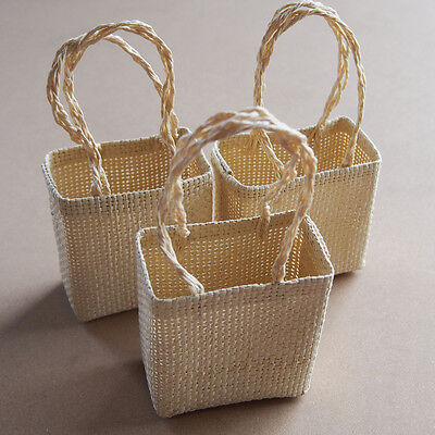Mini Woven Favor Bags Pouches Baby Shower / Wedding