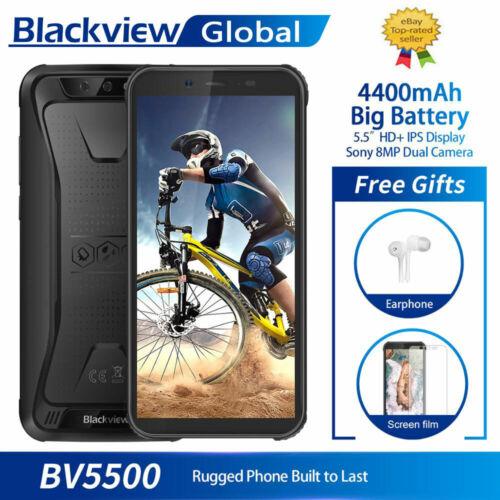 Blackview BV5500 Outdoor Handy IP68 Wasserdicht Smartphone 16GB 5.5 Zoll 4400mAh