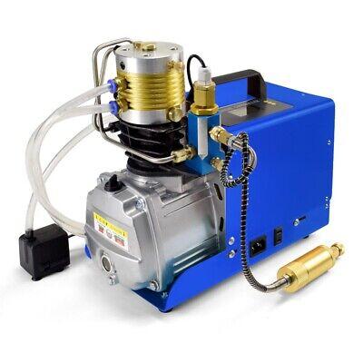 30mpa Digital Lcd High Pressure Air Compressor Airgun Pcp Air Pump Auto Stop Usa