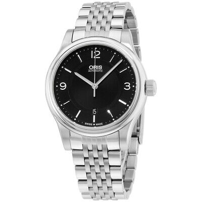 Oris Classic Automatic Movement Black Dial Men's Watch 73375944034MB