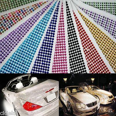 648 Self Adhesive Rhinestone Crystal Diamond Gemstones Decoration Gems Car - Rhinestone Stickers