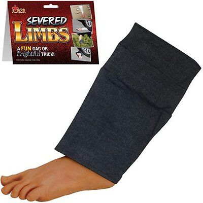 FAKE SURPRISING LEG / FOOT WITH PANTS Great Halloween Prop Gag  Prank Toy - Great Halloween Pranks