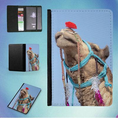 ACCESSORIES ANIMAL ARABIAN CAMEL FLIP PASSPORT COVER WALLET ORGANIZER - Arabian Accessories