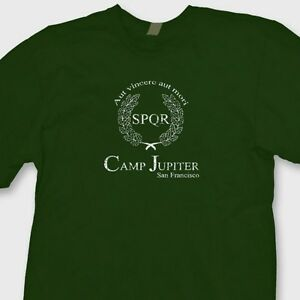 CAMP-JUPITER-Percy-Jackson-Camp-Half-Blood-T-shirt-movie ... Camp Jupiter Shirt Percy Jackson