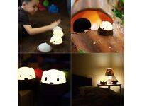 LED Baby Night Light, Sinava Press Control Bedside Lamps / Reading Lights / Camping Lamp