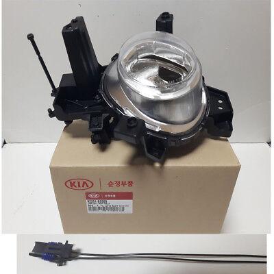 Genuine OEM Fog Light Lamp LH 92201B2500 + Connector for 2017-2018 KIA Soul