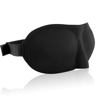 3D Travel Sleep Eye Mask Eyepatch Memory Foam Padded Shade Sleeping Blindfold
