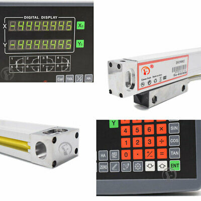 23 Axis Dro Digital Readout Display For Milling Lathe Machine Ttl Linear Scale