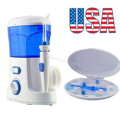 Water Jet Dental Teeth Flosser Flossing Set Oral Tooth Cleaner Machine+7 Tips US