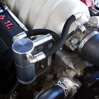 UPR 5032-194 2009-2019 Dodge Ram 5.7L Billet Oil Catch Can Z Mount - Satin