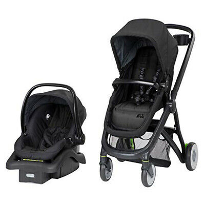 Safety 1st Riva 6 in 1 Flex Modular Baby Travel System, Gray Canyon (Open Box)