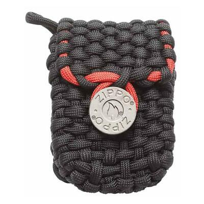 Zippo 40467,  Paracord Black Nylon Lighter Pouch