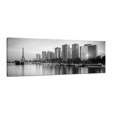 Canvas Wall Art Prints Picture Photo Painting Home Office Decor Cityscape Gray