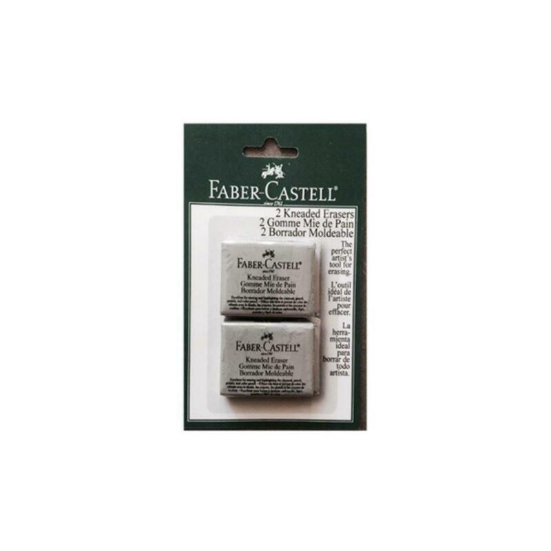 Faber Castell Large Kneaded Eraser 2 Pack