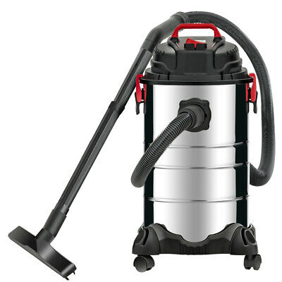 Portable 8 Gallon 4in1 Wet Dry Vacuum Cleaner Vac Shop 3.5 Hp Stainless Steel