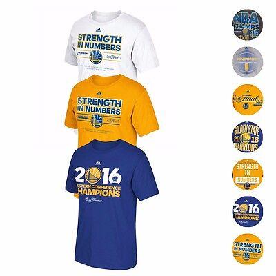Golden State Warriors Adidas Nba Finals Championship Commemorative T Shirt Mens