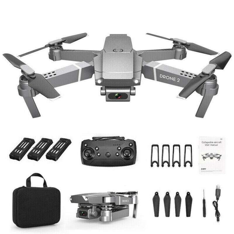 Drone 2.4G Selfie WIFI FPV with 720P/1080P/4K HD Camera Foldable RC Quadcopter