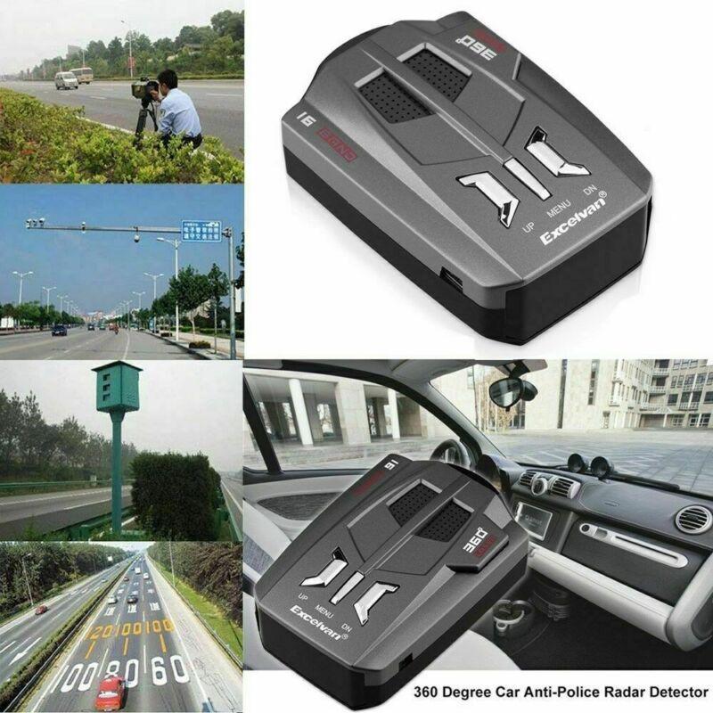 360° Car Truck 16 Band V9 Gps Speed Police Safe-radar Detector Voice Alert Laser