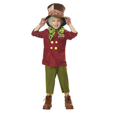 Mad Hatter Costume Toddler (Toddler Lil' Mad Hatter Halloween)