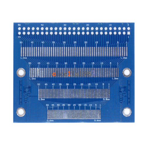 Multiple 0.5-1.2mm Pitch 2.0-3.5 inch TFT LCD Adapter Board Test module FPC PCB
