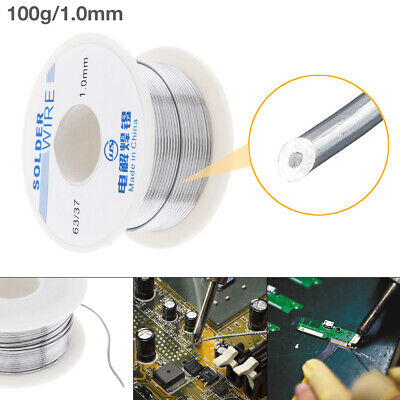 100g 1mm 6337 Rosin Core Solder Wire Reel Tin Lead Flux Electric Soldering Iron