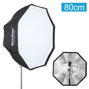 Godox 80cm Octagon Umbrella Softbox for Speedlite Studio Flash Speedlight UK