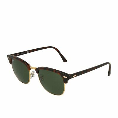 Ray-Ban Clubmaster RB3016 W0366/51 Mock Tortoise Sonnenbrille