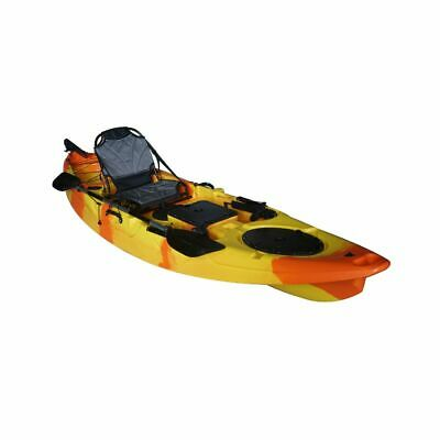 Cambridge Kayaks BARRACUDA NARANJA Y AMARILLO KAYAK DE PESCA