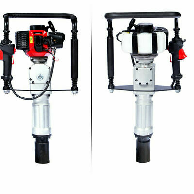 52cc Gas Powered Y-post Driver Pile Gasoline Engine 5570mm Push Fence Farm
