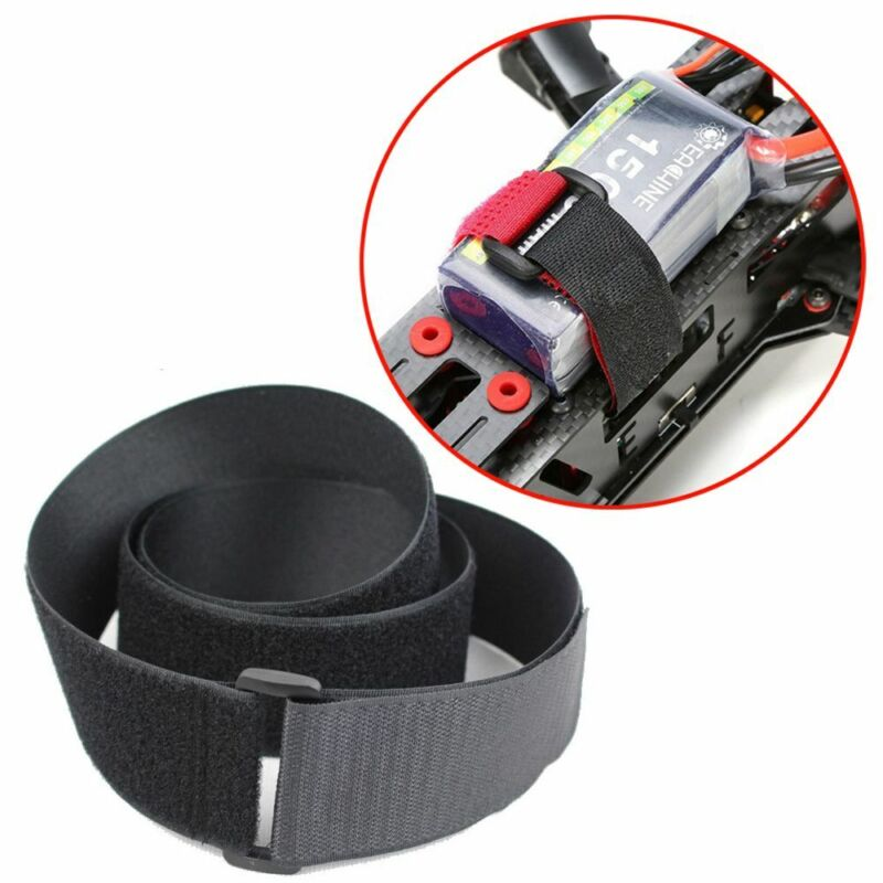Nylon RC Accessories Antiskid Cable Hook Loop Tie-down Straps Cable Ties