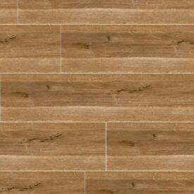 Cedar Wood Effect Floor Tile 22.5 x 90 (6 pieces,1.215m²)