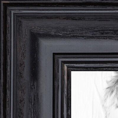 ArtToFrames Custom Picture Poster Frame Black Stain on Oak 1