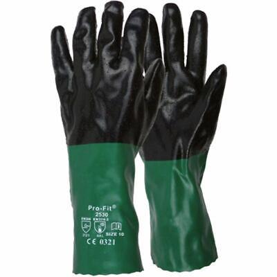 Hausmarke Chemikalien-Schutzhandschuhe aus Neopren/Nitril, G