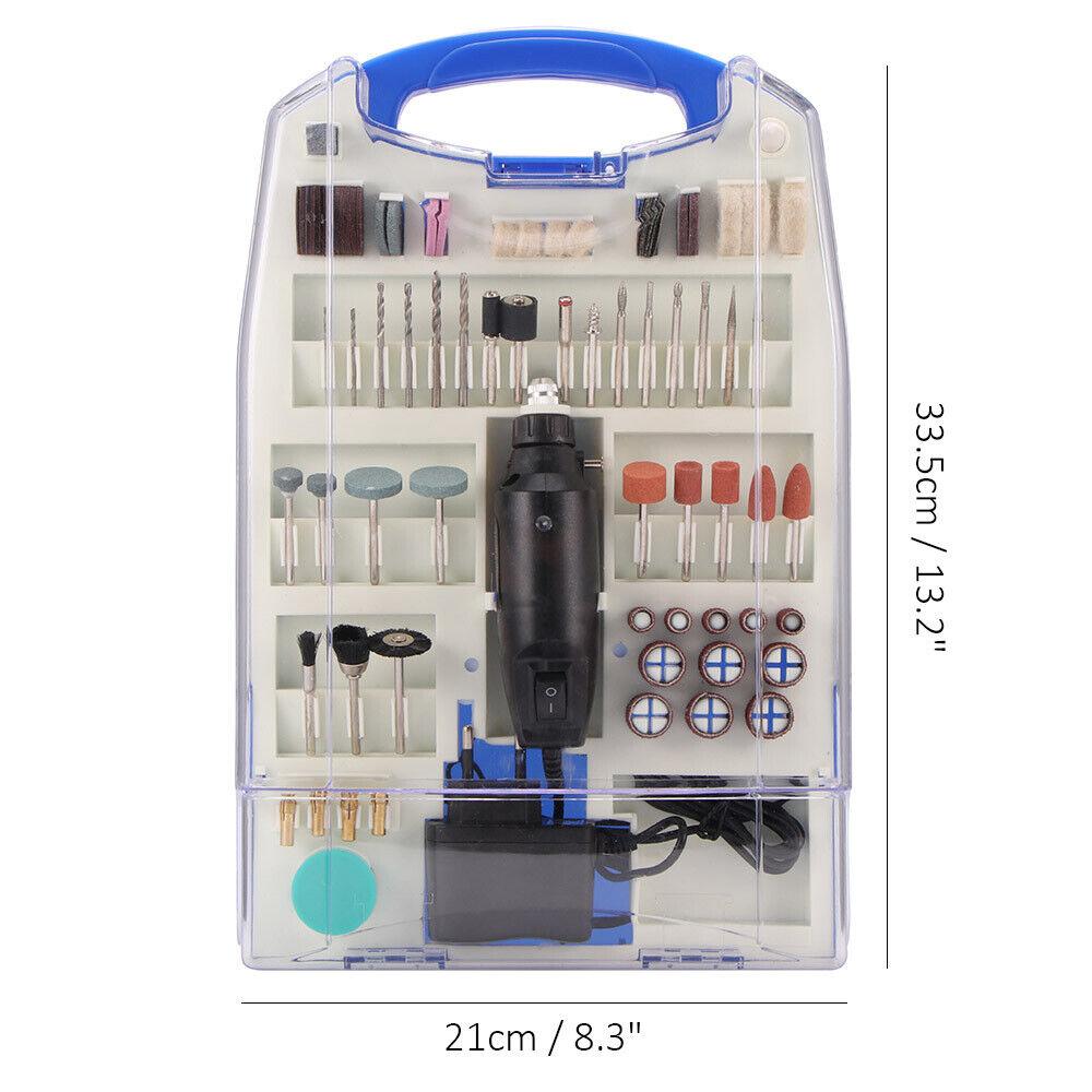 Mini Schleifer Set Bohrmaschine Schleifmaschine Multifunktionswerkzeug 110-tlg
