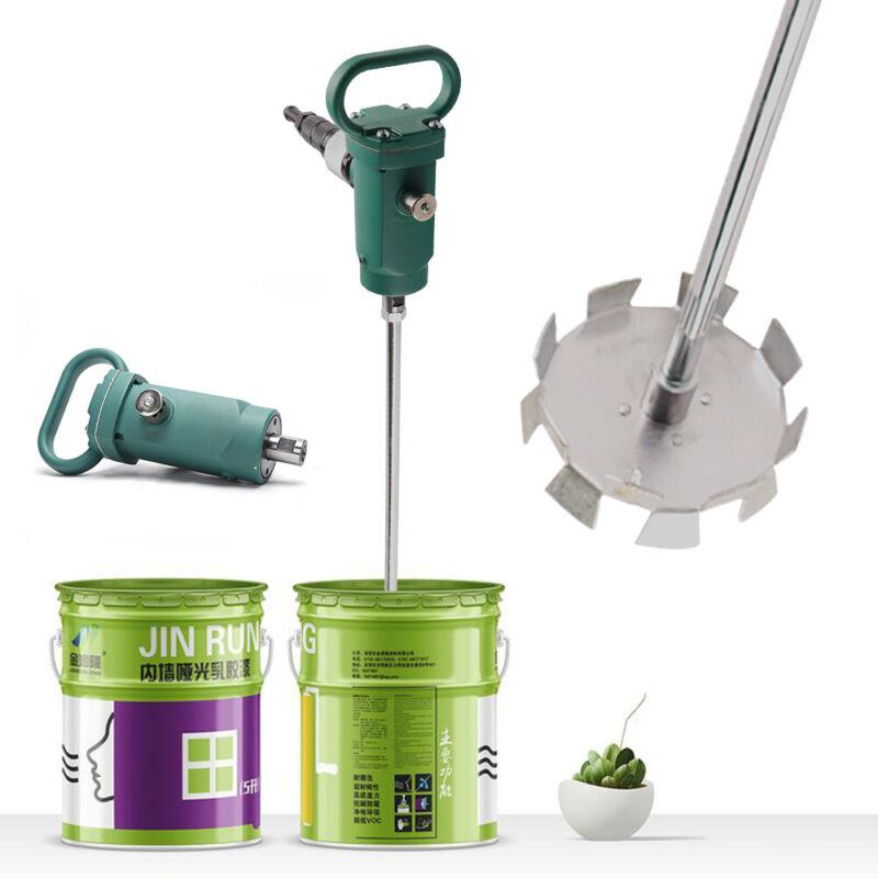 Pneumatic Mixer 50-250L Tank Barrel Paint Mix Blender Handheld Portable Blender