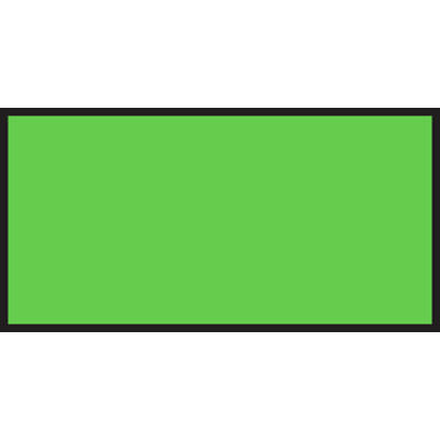 Monarch Green Fluorescent Labels For 1110 1-line Pricing Gun - 19mml X 10mmh