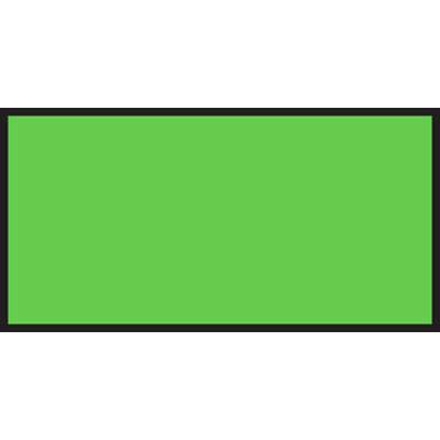Monarch Green Fluorescent Labels For 1110 1-line Pricing Gun - 19mml X 10mmh
