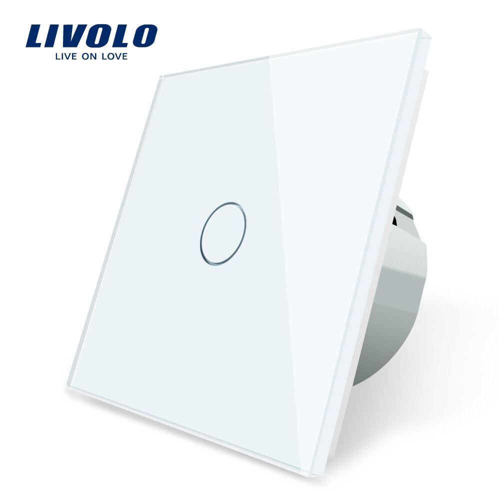 LIVOLO EU Standard Touch Switch 1 Gang 1 Way Wall Led Light