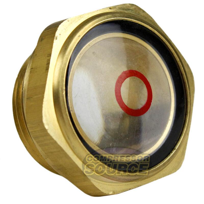 "3/4"" Puma Air Compressor Oil Sight Glass & Gasket OEM Replacement New 2303022B"