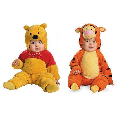 Tigger Costume Child (Winnie The Pooh Tigger Costume Kids Child Plush OFFICIALLY LICENSED)