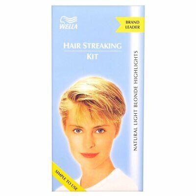 Wella Hair Streaking Kit Scandanavian Blonde Natural Looking Highlights