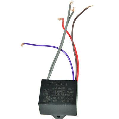 Electric Machine Capacitor CBB61 4.5uf/6uf/5uf Motor Ceiling Fan US
