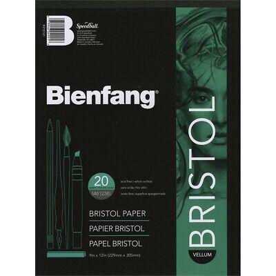 Bienfang Bristol Board Vellum Paper Pad 9