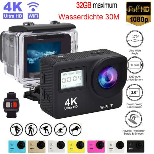 Sport Aktion Kamera UHD 1080P 4K WiFi Helm Action Cam Camcorder Wasserdicht 30M