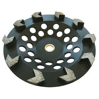7 Arrow Seg Diamond Grinding Cup Wheel For Angle Grinders 78-58 Concrete