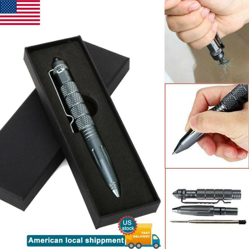 New Personal Safety Self Defense Tactical Pen Pencil Tungste