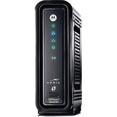 New Arris   Motorola Sbg6580 Docsis3 0 Wifi Cable Modem Router Comcast Xfinity